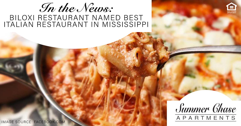 Best Italian Restaurant in Mississippi