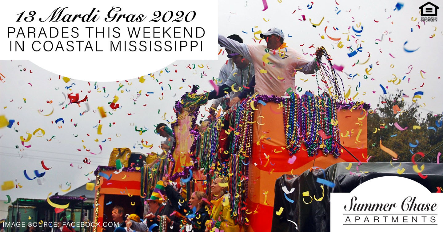 Mardi Gras 2020 Parades this Weekend in Coastal Mississippi