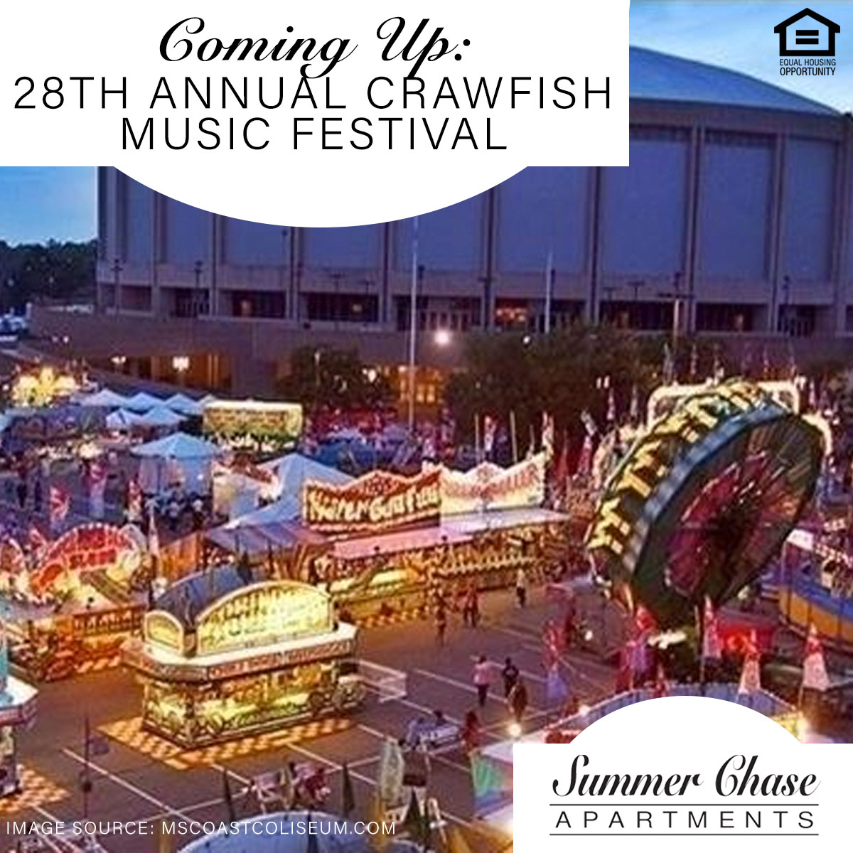 Coming Up: 28th Annual Crawfish Music Festival