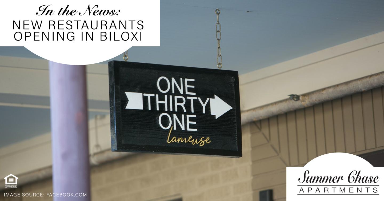 New restaurants opening in Biloxi
