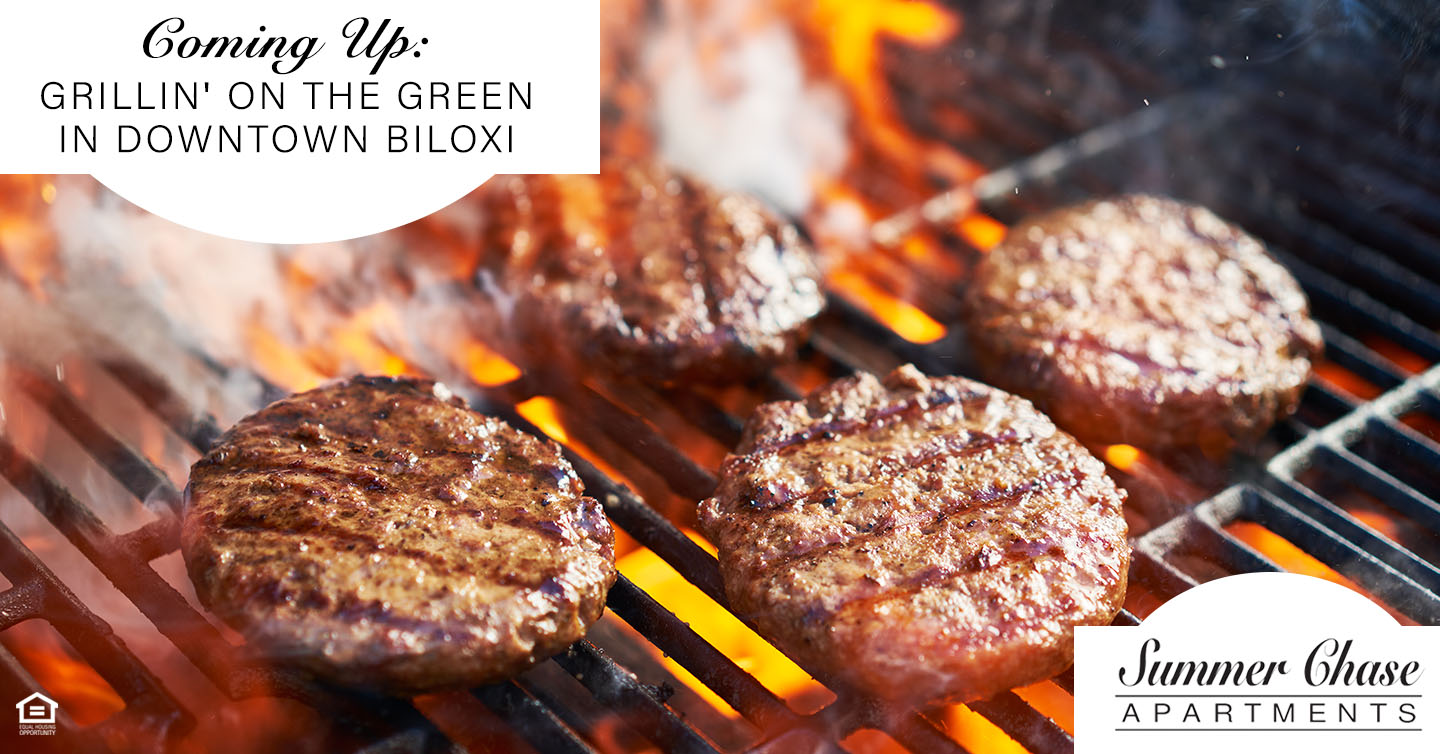 Coming Up: Grillin' on the Green in Downtown Biloxi