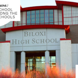 Biloxi High School was ranked among the state's best schools