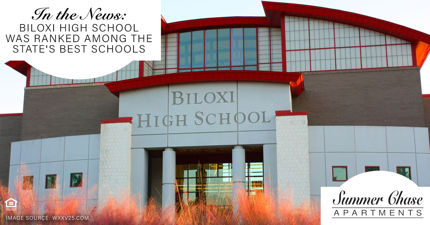 In the News: Biloxi High School Was Ranked Among the State's Best Schools