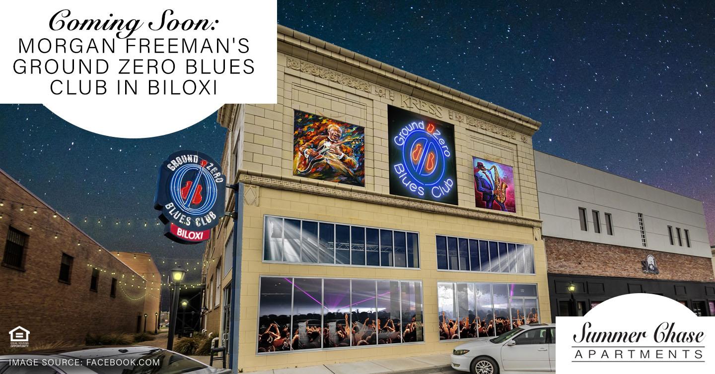 Coming Soon: Morgan Freeman's Ground Zero Blues Club in Biloxi